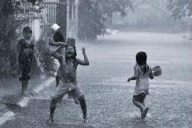 Tả cơn mưa mùa hạ lớp 5