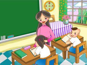 Tả về cô giáo của em