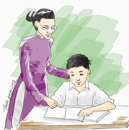 cam nghi ve thay co giao cua em - Cảm nghĩ về thầy cô giáo của em
