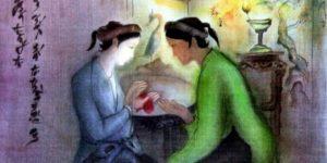 Cảm nhận 12 câu đầu của đoạn trích Trao duyên trong Truyện Kiều - Nguyễn Du