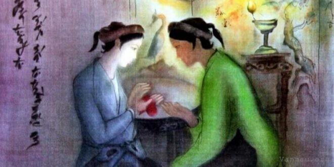 cam nhan 12 cau dau cua doan trich trao duyen trong truyen kieu nguyen du - Cảm nhận 12 câu đầu của đoạn trích Trao duyên trong Truyện Kiều - Nguyễn Du