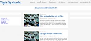 Top 10 website những bài văn mẫu hay lớp 10 mới nhất
