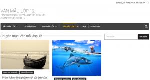 Top 10 website những bài văn mẫu hay lớp 12 mới nhất